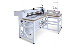 Швейный автомат программируемой строчки для пришивания молнии по заданному контуру Aurora ASM-0302-D3
