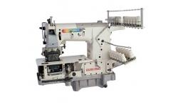 Высокоскоростная поясная 12-ти игольная промышленная швейная машина GOLDEN WHEEL CS-1212P