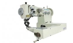 Двухигольная швейная машина для обуви GLOBAL SM 7777 в комплекте со столом и HVP 90