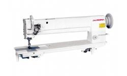 Двухигольная промышленная швейная машина для сверхтяжелых материалов Aurora A-878 с увеличенным вылетом рукава