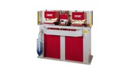 Двухголовочная гидравлическая машина для перфорации с печатной машиной Omac 740